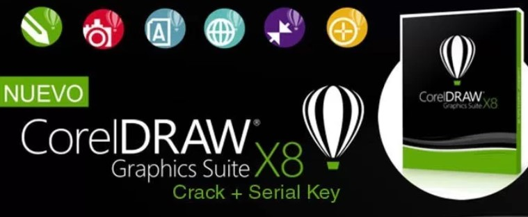 CorelDraw X8 Full Version Free Download + Serial Key
