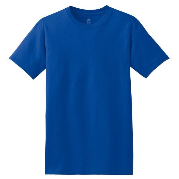 Hanes 5280 ComfortSoft Heavyweight Cotton T-Shirt - Deep ...