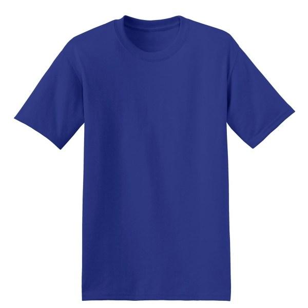 Hanes 5170 ComfortBlend EcoSmart Cotton/Polyester T-Shirt ...