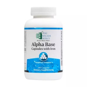 Alpha Base Capsules with Iron 240 capsles with iron