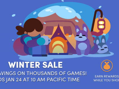 More games added to the Winter Sale - Great Steam games for a low price!