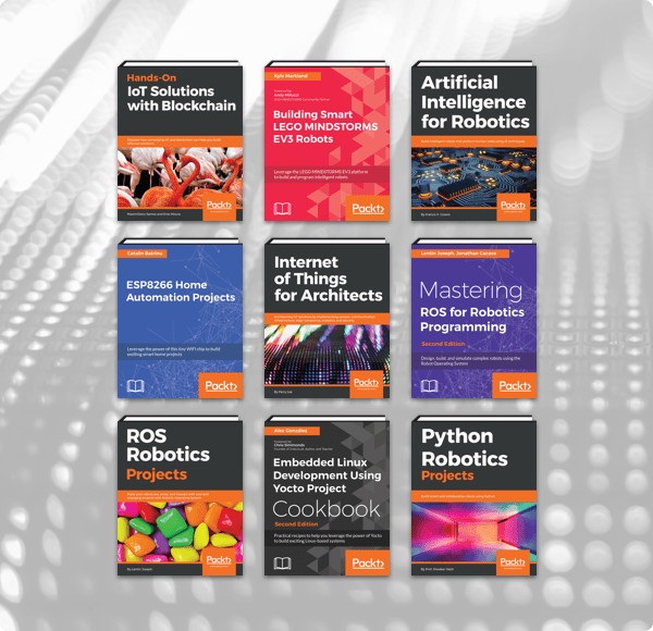 The Humble Book Bundle: Robotics & IoT by Packt