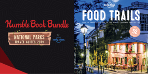Pay what you want for The Humble Book Bundle: National Parks Travel Guides 2019 by Lonely Planet!