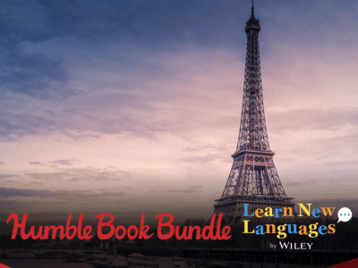 Pay what you want for The Humble Book Bundle: Learn New Languages by Wiley - Spanish, German, French, Italian!