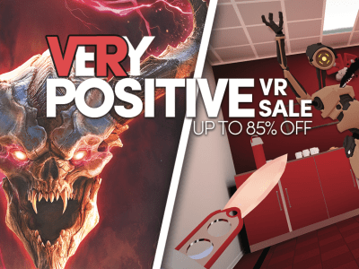 VRy Positive VR Sale - Up to 85% off great virtual reality PC games!