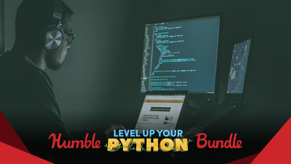 Pay what you want for The Humble Level Up Your Python Bundle - ebooks, software, and videos!