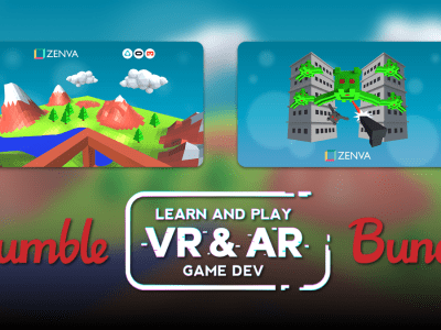 Pay what you want for The Humble Learn and Play VR-AR Game Dev Bundle!