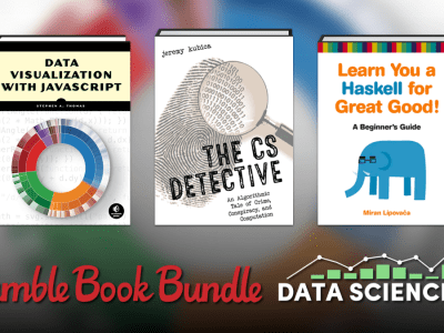 Pay what you want for The Humble Book Bundle: Data Science by No Starch Press