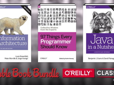 Pay what you want for The Humble Book Bundle: O'Reilly Classics by O'Reilly - Data Analysis, Java, JavaScript, Programming, etc.!