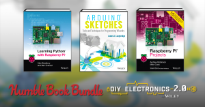 Starts at $1 - Book bundles on DIY Electronics with Arduino, Raspberry Pi, BeagleBone and more!