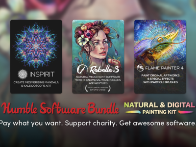 Humble Software Bundle: Natural & Digital Painting Kit