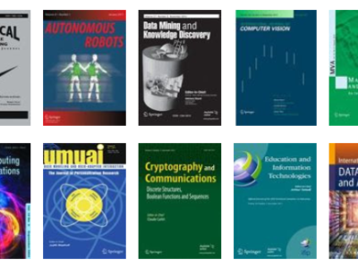 Free Access to Special Issues in Springer Journals Computer Science - Computer Vision, Intelligence, Robots, Cryptography, Data Mining, etc.