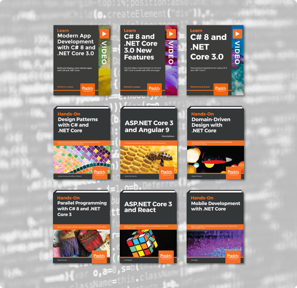 Humble Book Bundle: C# & .NET Core by Packt
