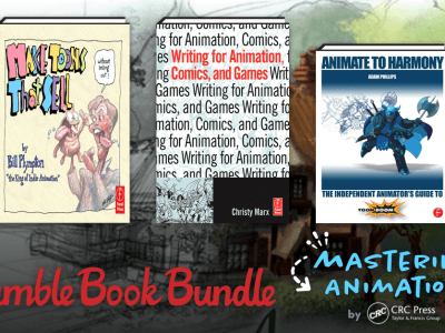 Get great eBooks in The Humble Book Bundle: Mastering Animation by CRC Press!
