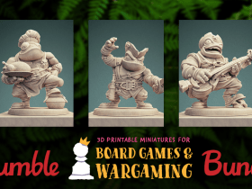 Pay what you want for 3D printable models like Cook, Blacksmith, and Bard. Plus, your purchase helps support No Kid Hungry Connection, Extra Life, & St. Jude!