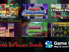 Get software and assets to build your own game maps and levels in the Humble Game Dev Map & Level Creator Bundle!