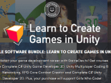 Pay what you want for Complete Unity Developer 2D, Complete Unity Developer 3D, and Unity Multiplayer: Intermediate C# Coding & Networking, etc. - supports Girls Who Code!