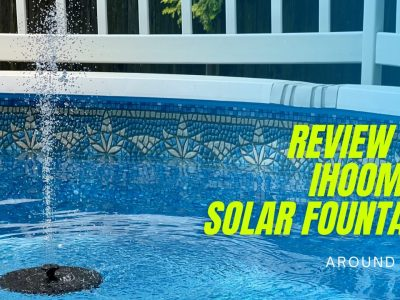 Review: Ihoomee Solar Fountain (with video)