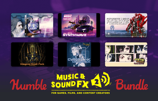 Get a collection of sound effects and music to add the finishing touch to your game or video project!