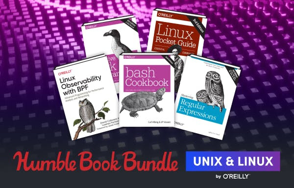 Get up to speed on Linux and Unix, with nearly $700 of O'Reilly ebooks!