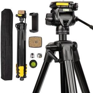 Review: Lusweimi 81 inch Heavy Duty Camera Tripod