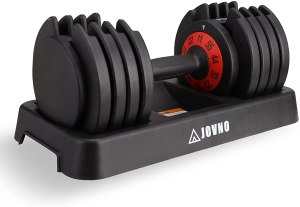 Review: JOVNO Adjustable Dumbbells (55lbs)
