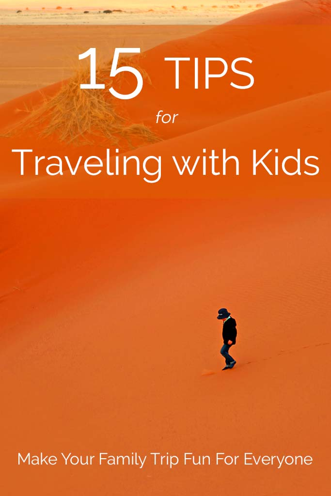 Tips and tricks for traveling with kids. From a short weekend getaway to long international trips, find out how you can make a family vacation fun for everyone!