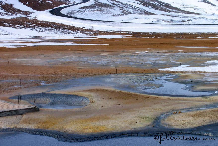 Namaskard geothermal area in Northern Iceland