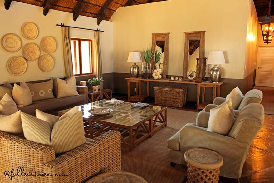 Luxury Mushara lodge in Etosha Namibia