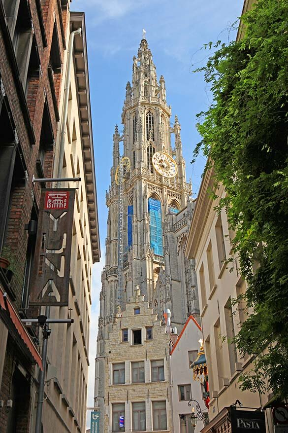 Antwerp Cathedral of Our Lady - Onze Lieve Vrouwekathedraal