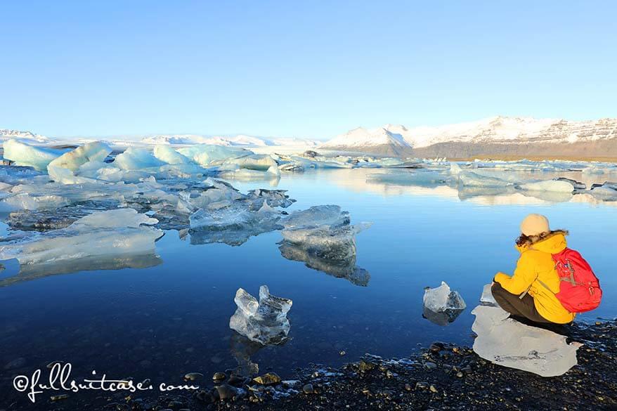 Jökulsárlón glacier lagoon - one of favourite Iceland photos