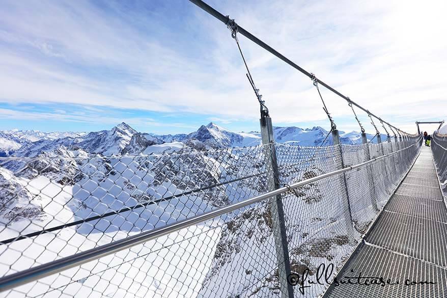 Mount Titlis suspension bridge