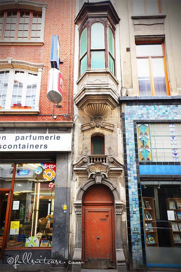 A very narrow house in Antwerp