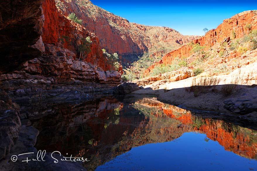 Ormiston Gorge and Pound West MacDonnell Ranges Australia