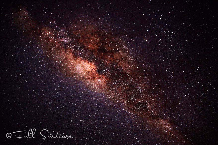 Night sky and Milky Way Namibia