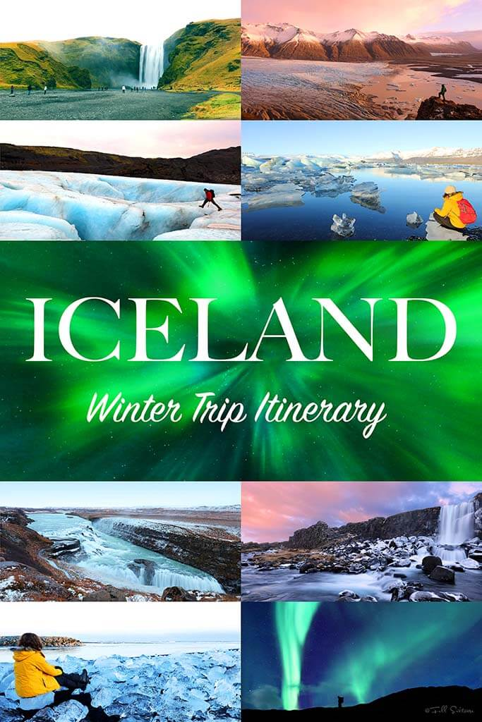 Most complete Iceland trip itinerary for winter months