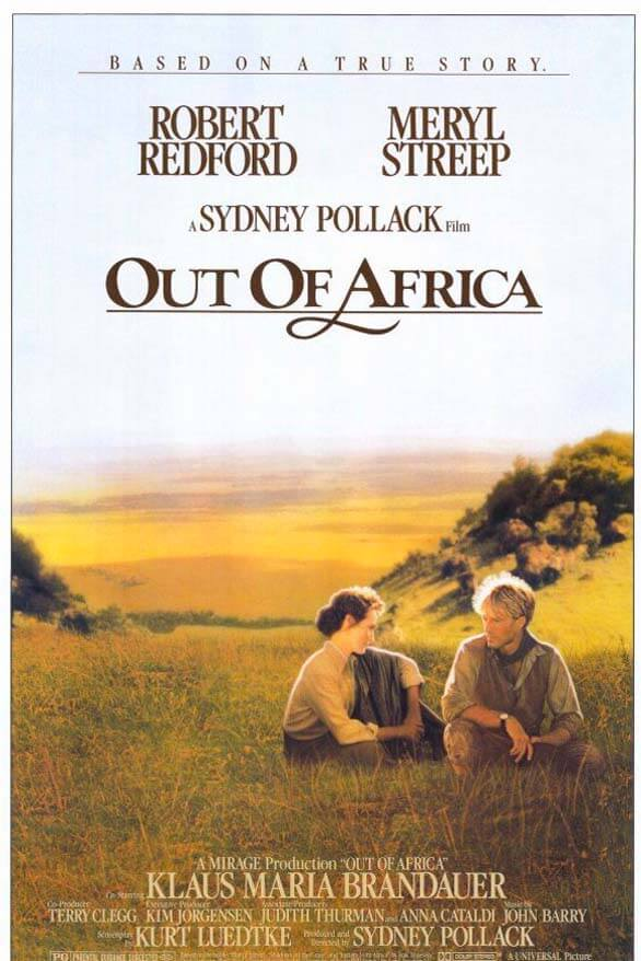 Out of Africa - classical movie that will inspire your wanderlust