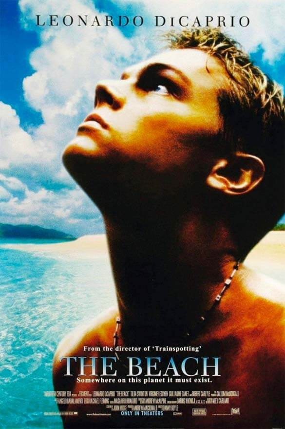 The Beach - one of the best travel movies
