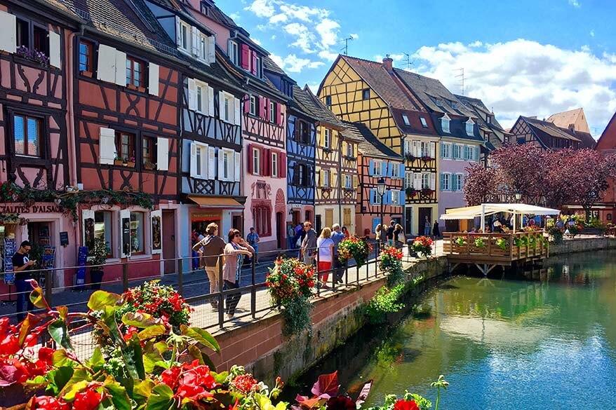 Colmar in Alsace region France
