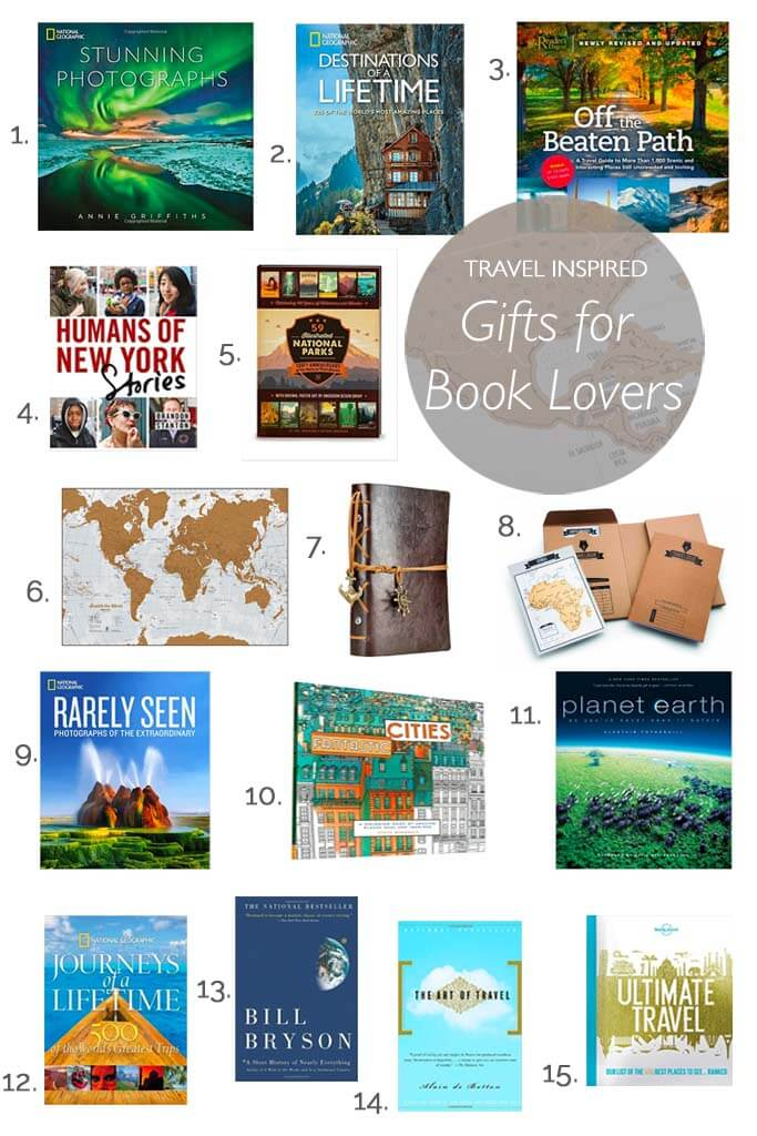 Best travel themed book and stationary gifts for your favourite bookworms. Surprise your family and friends with these inspiring presents for holiday or birthday