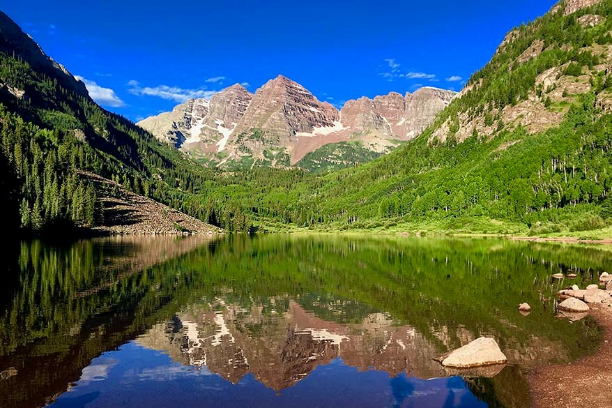 Maroon Bells Colorado USA