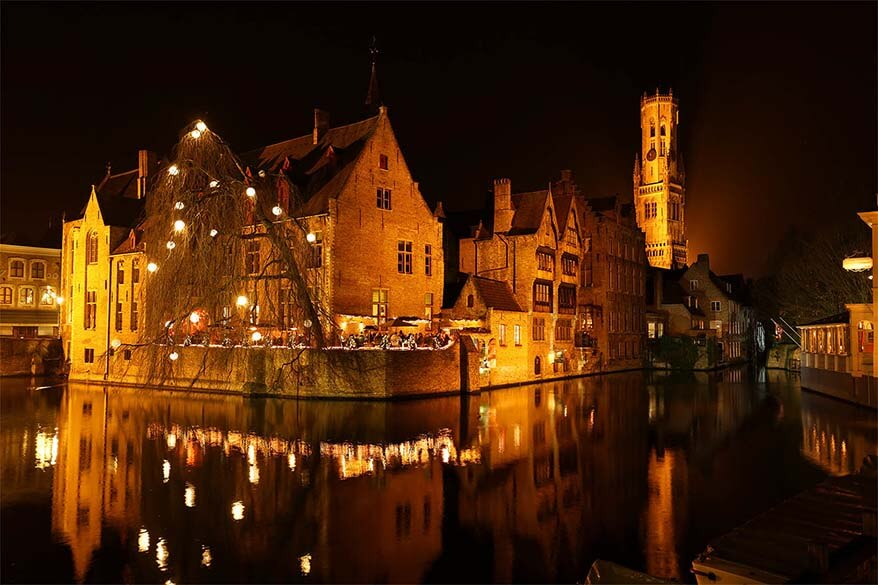 Bruges - the fairytale-like town in Belgium