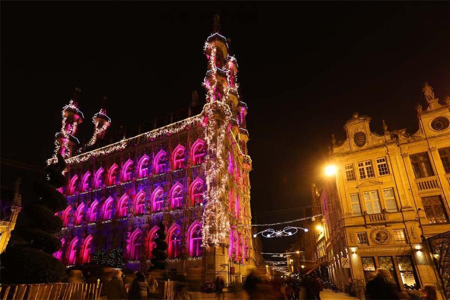 Leuven city hall Christmas 2016