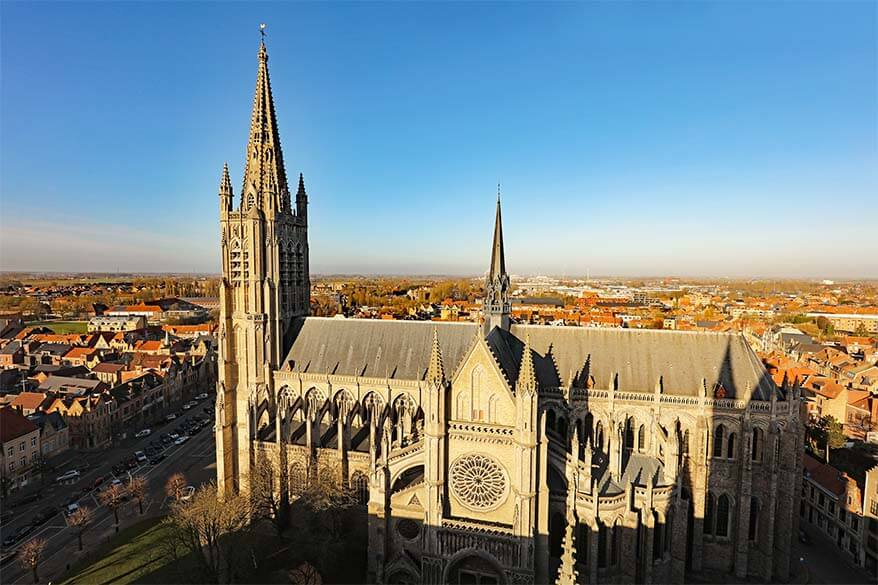 St Martin Cathedral Ypres