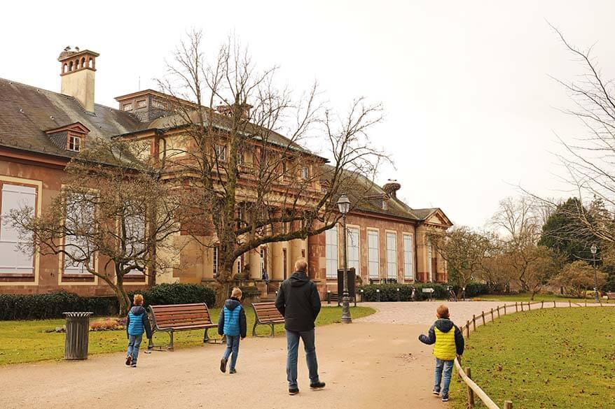 Pavillion Josephine at Parc de L'Orangerie Strasbourg
