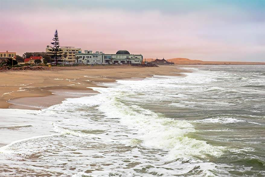 Swakopmund is the touristic centre of Namibia