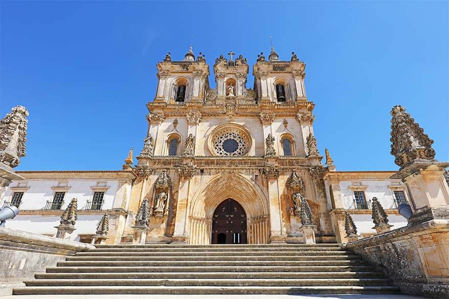 Alcobaca Monastery in Portugal