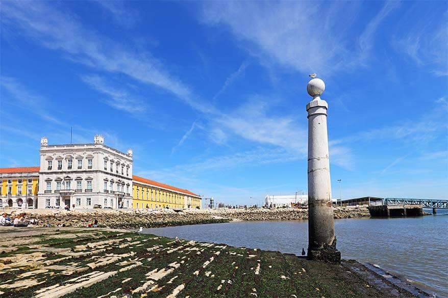 Cais das Colunas in Lisbon