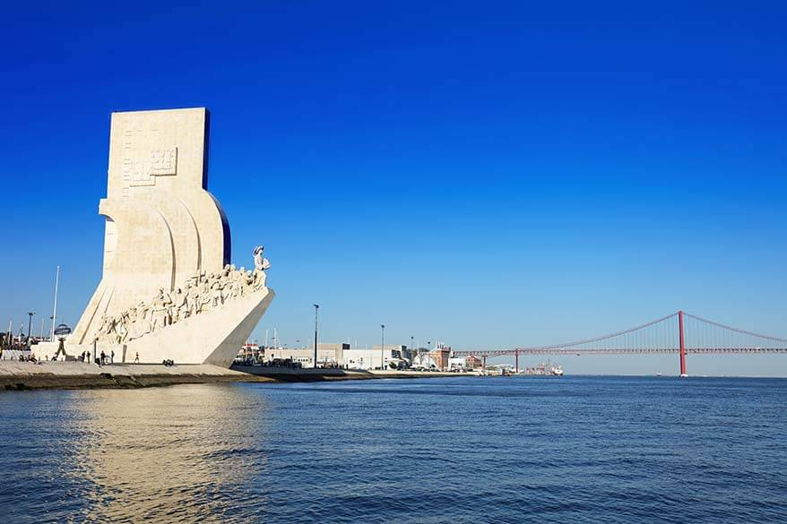 Monument to the Discoveries in Belem Lisbon