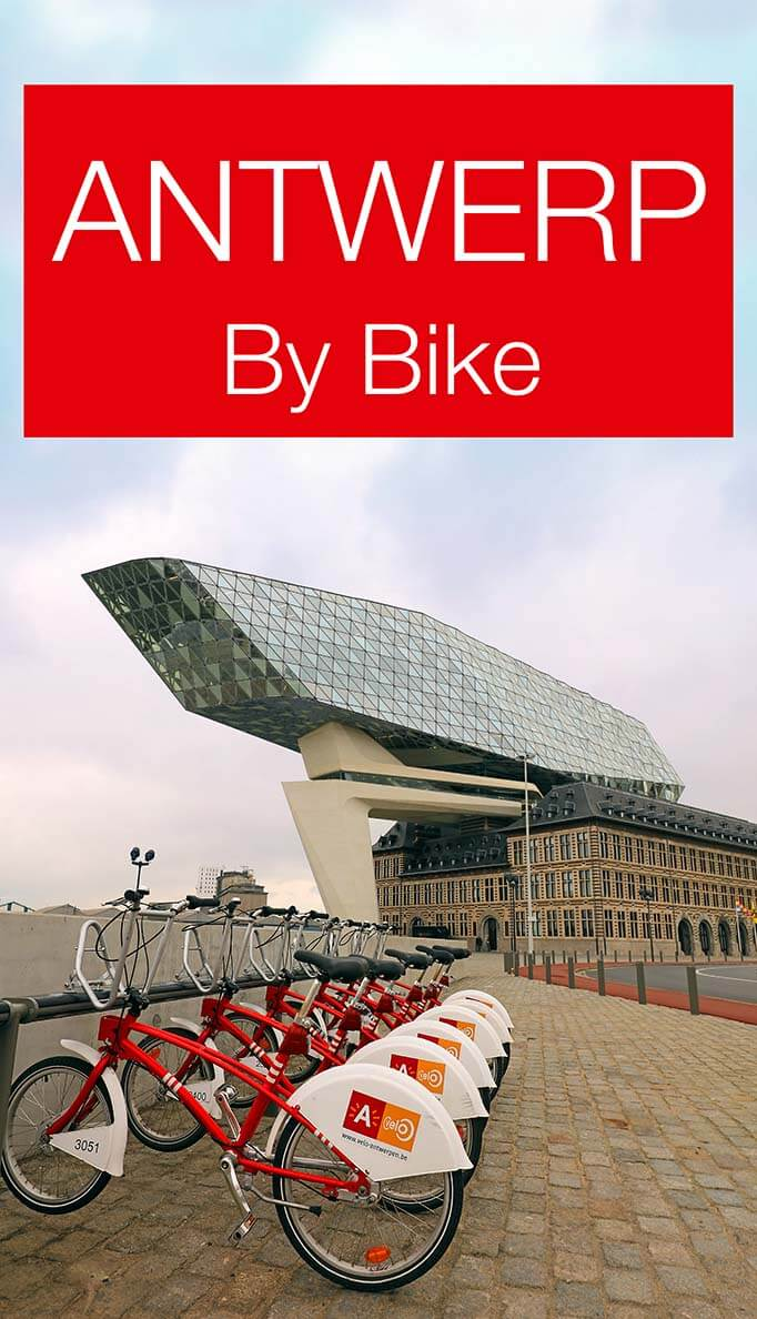 Discover some amazing off the beaten path places in Antwerp by bike. Belgium's second biggest city has a lot of hidden gems that can easily be explored by bike. Find out!